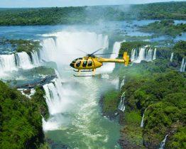 Tour en hélicoptère au Brésil