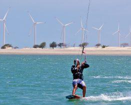 Kitesurf au Brésil
